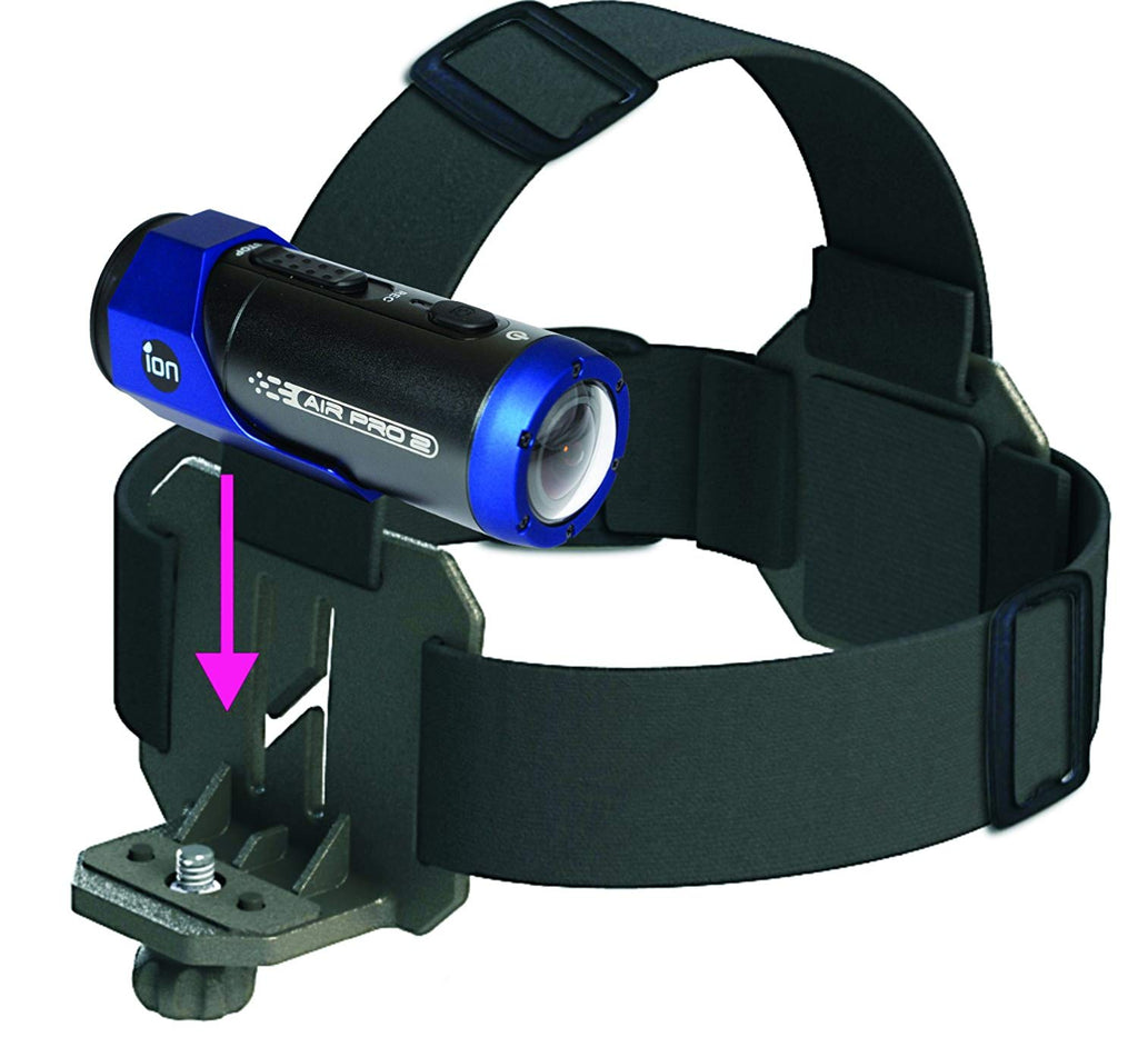 iON Camera 5019 Head Strap/Goggle Strap (Black) - silvereagleaudio.com