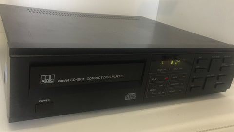 ADC CD-100X CD Player - silvereagleaudio.com
