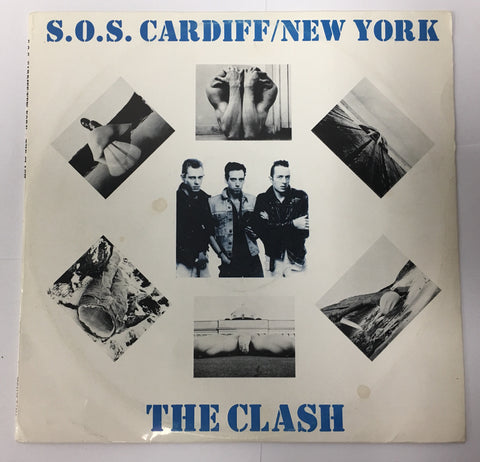 THE CLASH S.O.S. CARDIFF / NEW YORK RARE! - silvereagleaudio.com