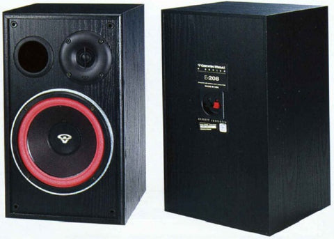 One Cervin Vega e series E 208 single - Silver Eagle Audio