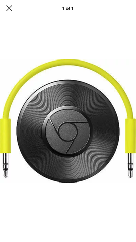 Google Chromecast Audio Media Streamer - silvereagleaudio.com