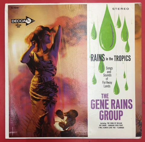 The Gene Rains Group ‎– Rains In The Tropics - silvereagleaudio.com