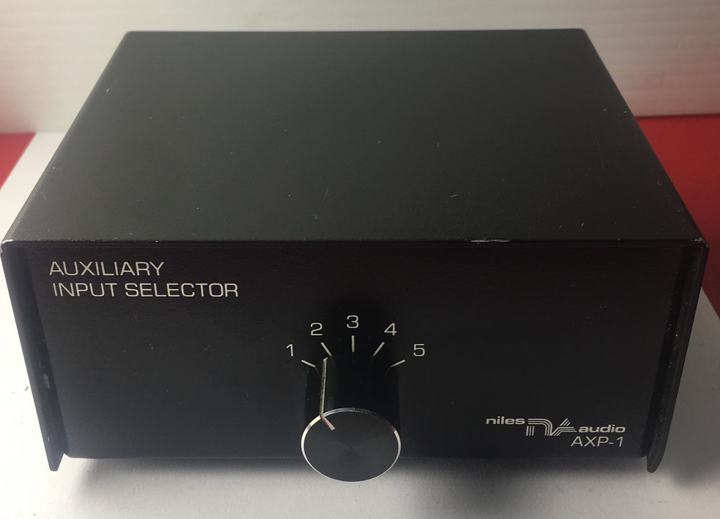 Niles AXP-1 Audio Input Selector Professional Grade RCA Input Switch Exct - silvereagleaudio.com