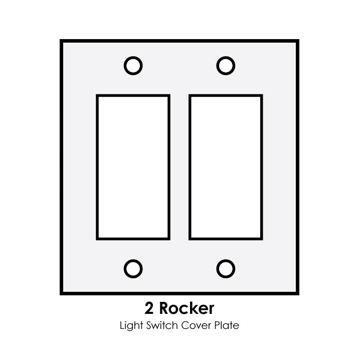 Double Light Switch Cover Amusing Frankenstein Double Rocker Light Switch Cover Kit  Linnell Design Decorating Design