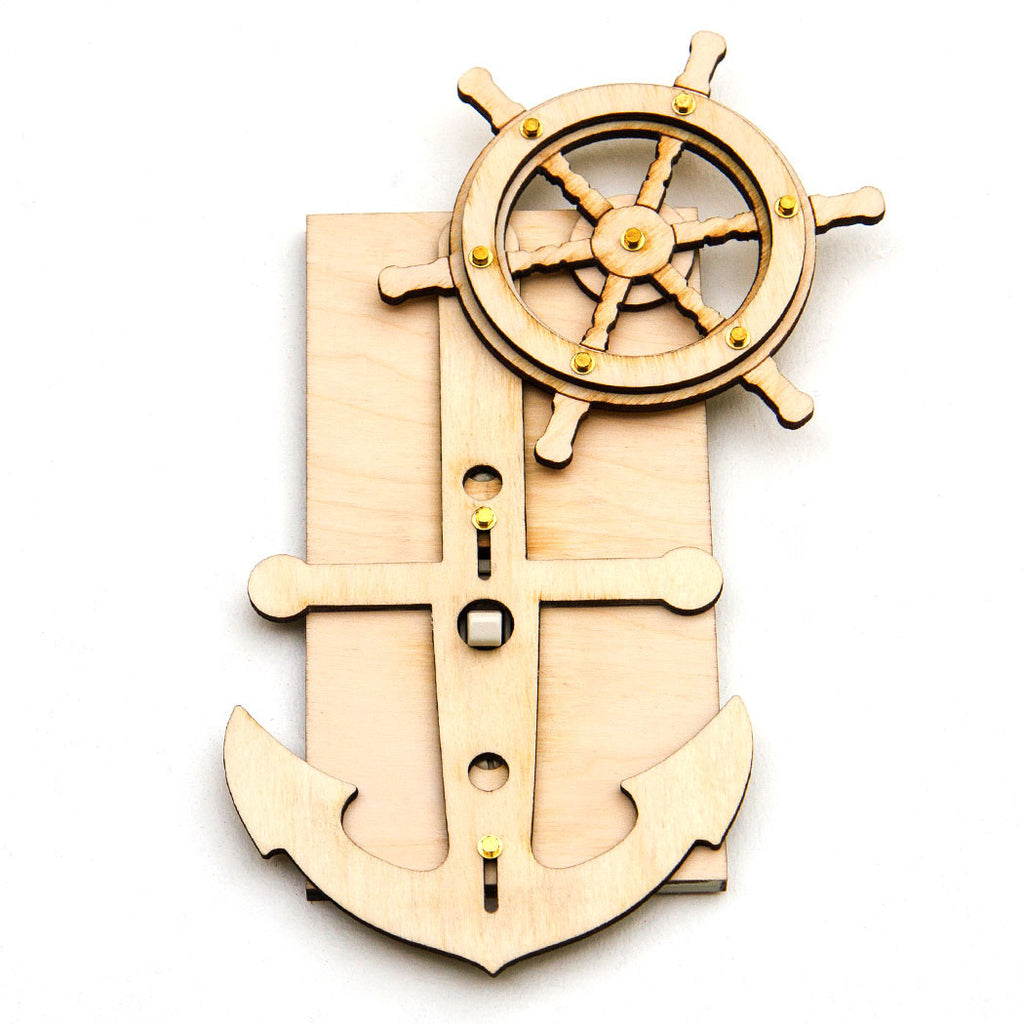 Anchor light Switch cover Kit front