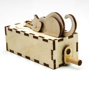 Automata Kit Cat and Mouse cranck