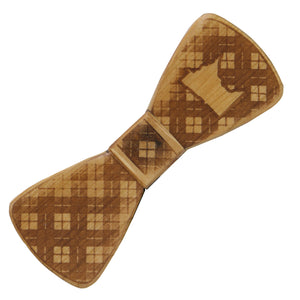 Minnesota Wood Bow Tie