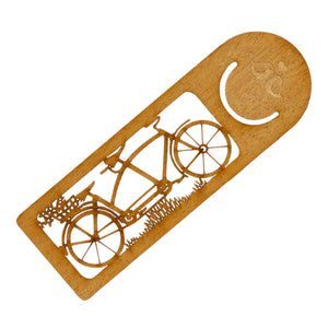 Tandem Bike Bookmark - Linnell Design