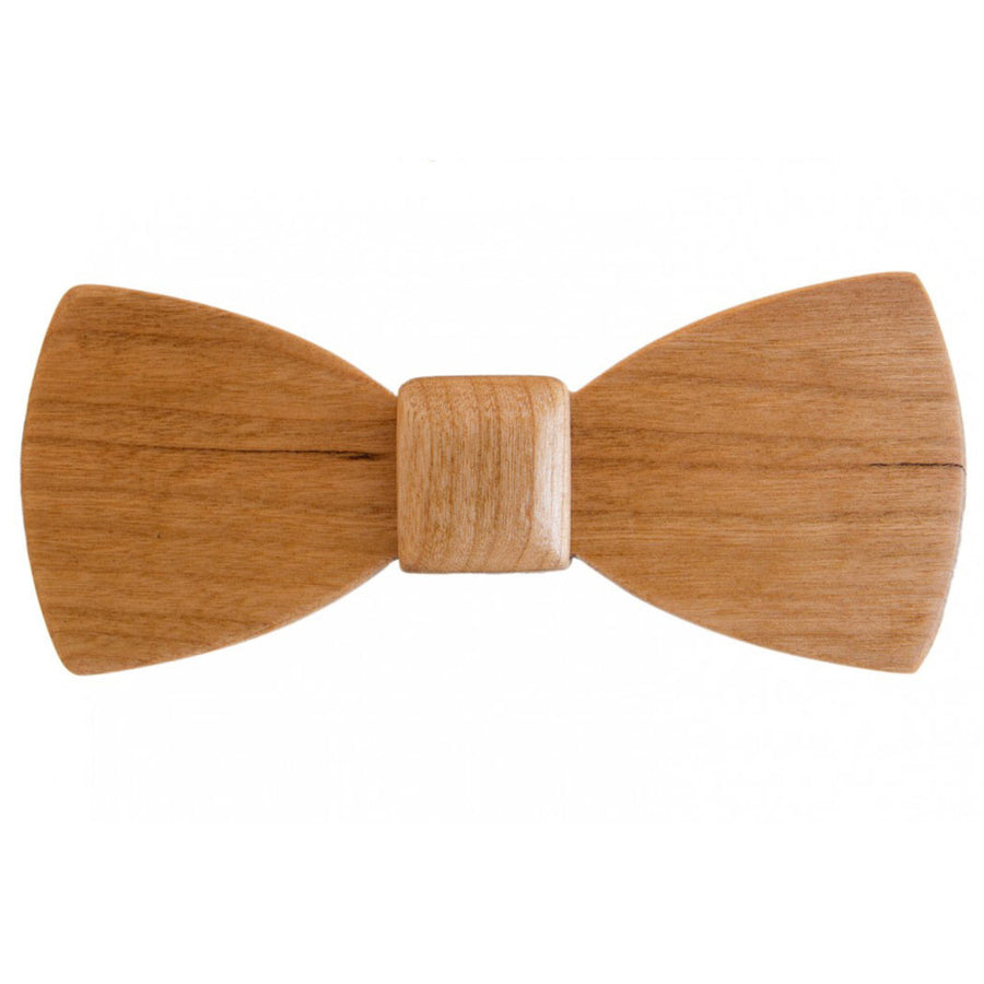 Cherry Wood Bow Tie - Classic