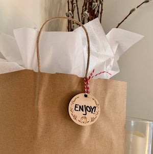 Botanical Wooden Tags