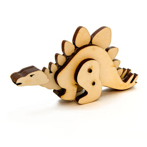 Dinosaur Kinetic Wooden Toy Kit
