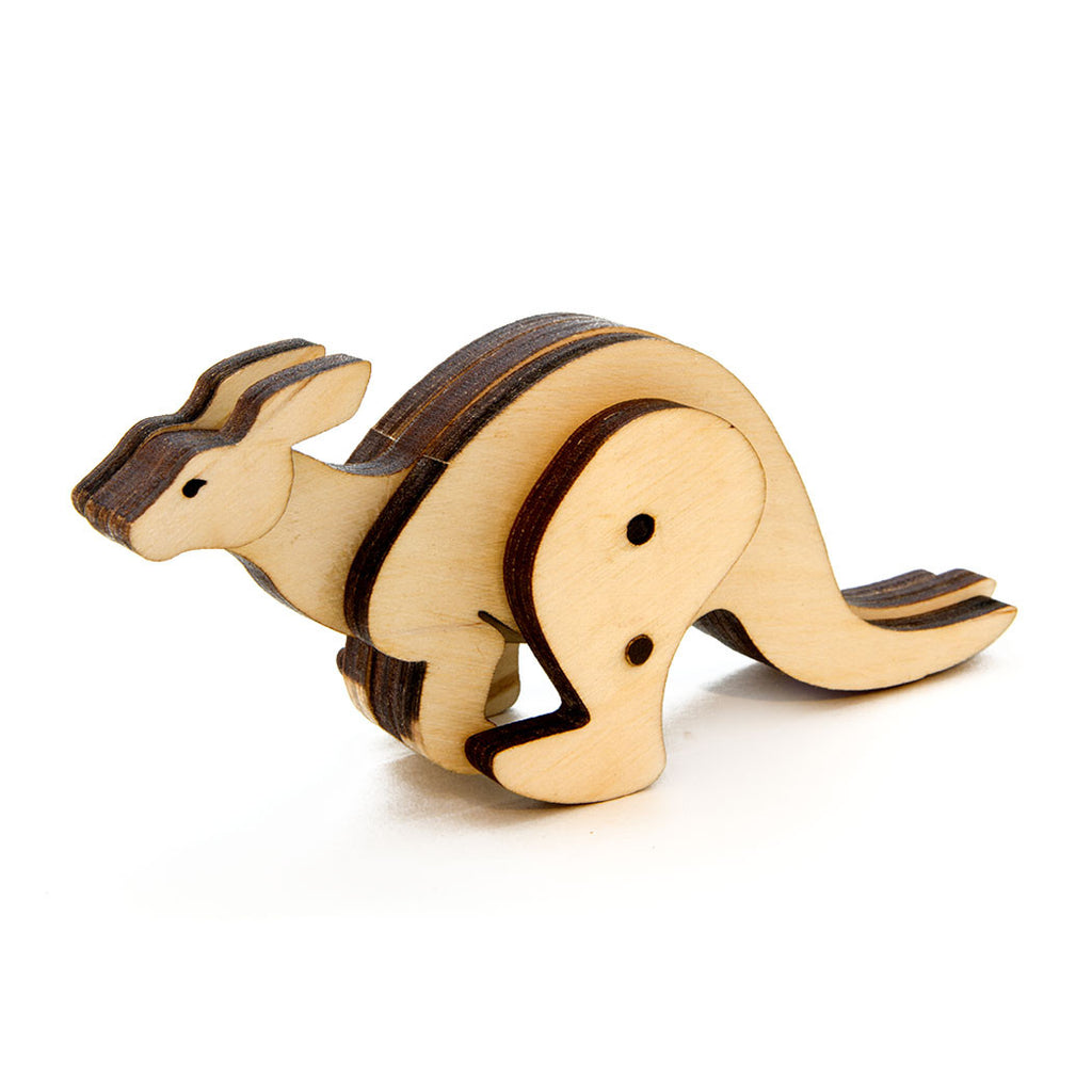 Kangaroo Kinetic Wooden Toy Kit