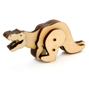 Trex Kinetic Wooden Toy Kit