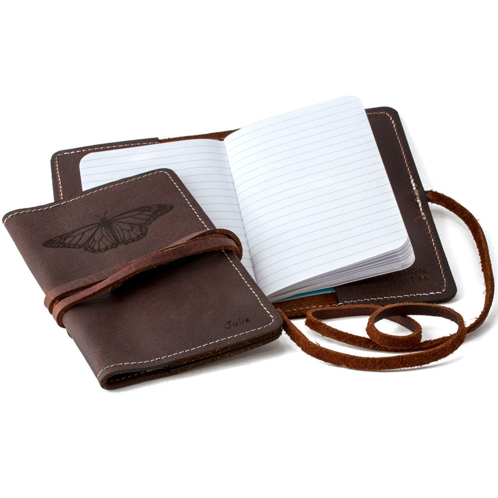 Leather Journal Cover - Northwoods