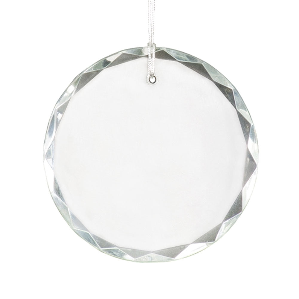 Crystal Ornament - Round Faceted