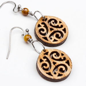 Maple Dangle Earrings