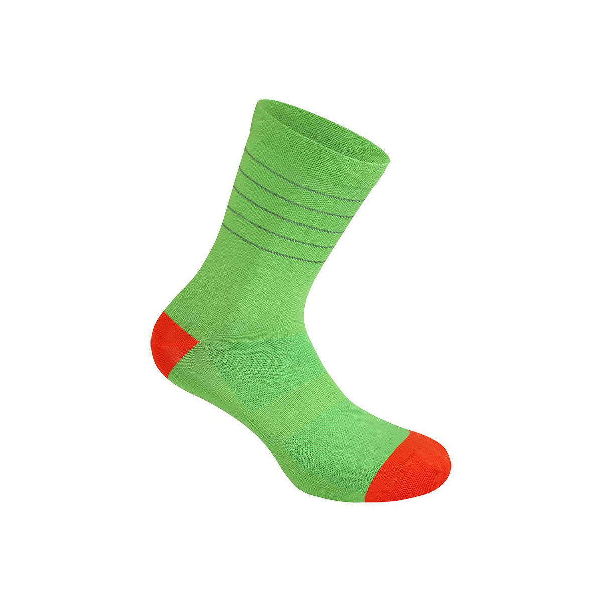Reflective Glitter Socks - Green Flash / Fiesta