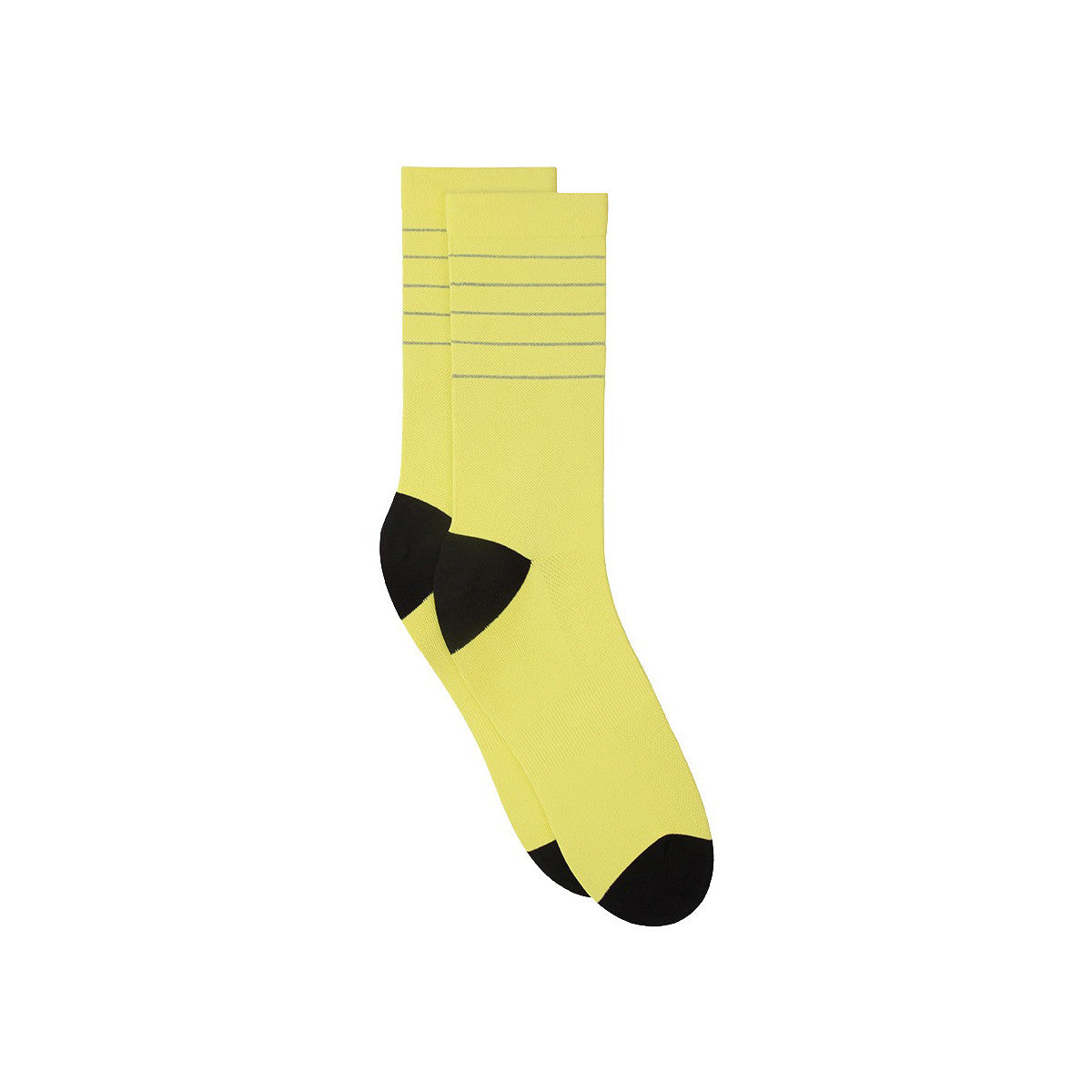 Reflective Glitter Socks - Buttercup / Black