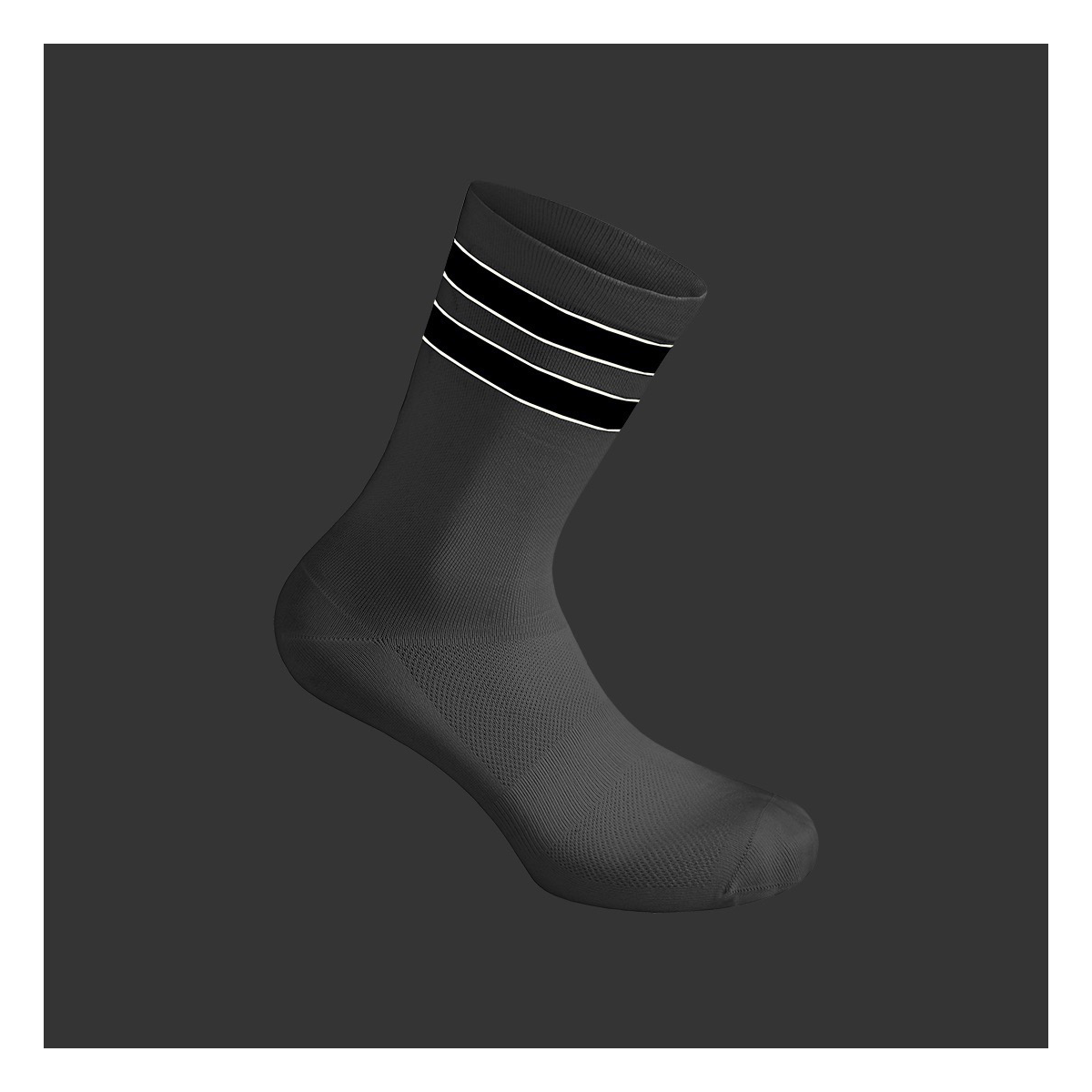 Reflective Team Socks / White