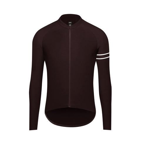 New - Essence Winter Long Sleeve Jersey / Espresso
