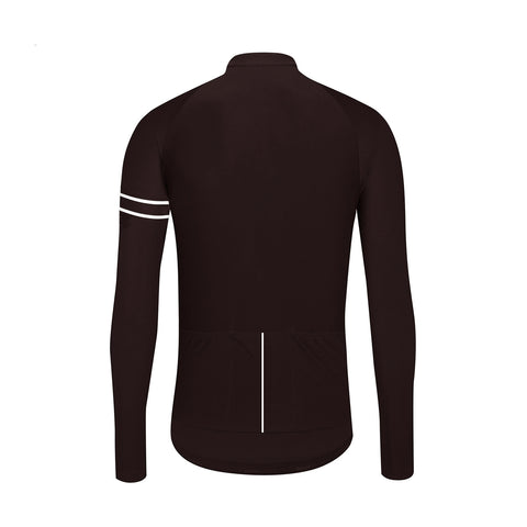 AW19 Essence Winter Long Sleeve Jersey / Espresso