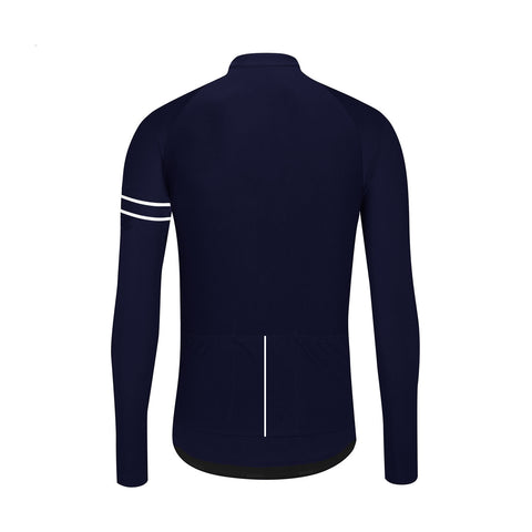 New - Essence Winter Long Sleeve Jersey / Midnight Blue