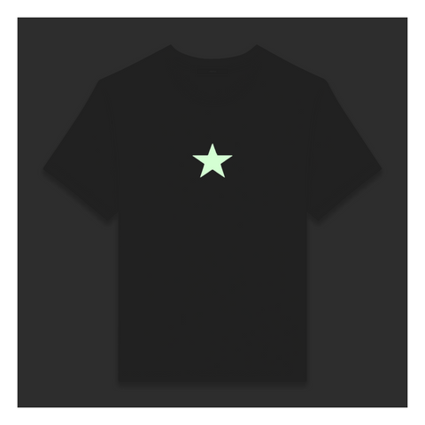 Star T-shirt / Reflective + Glow In The Dark