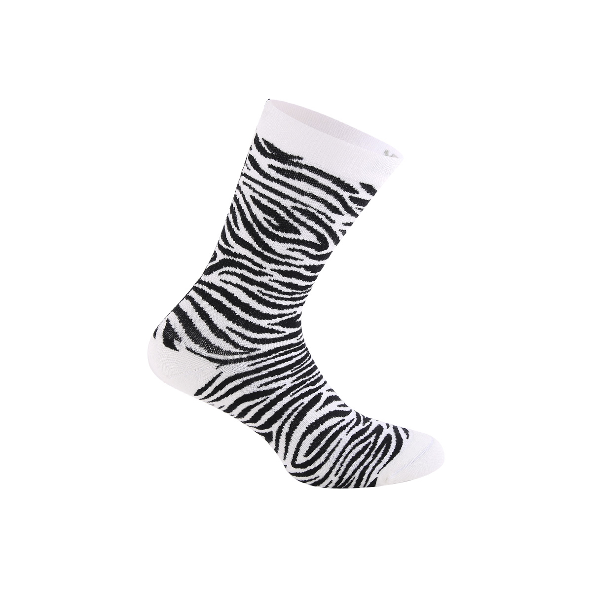 Zebra Winter Socks