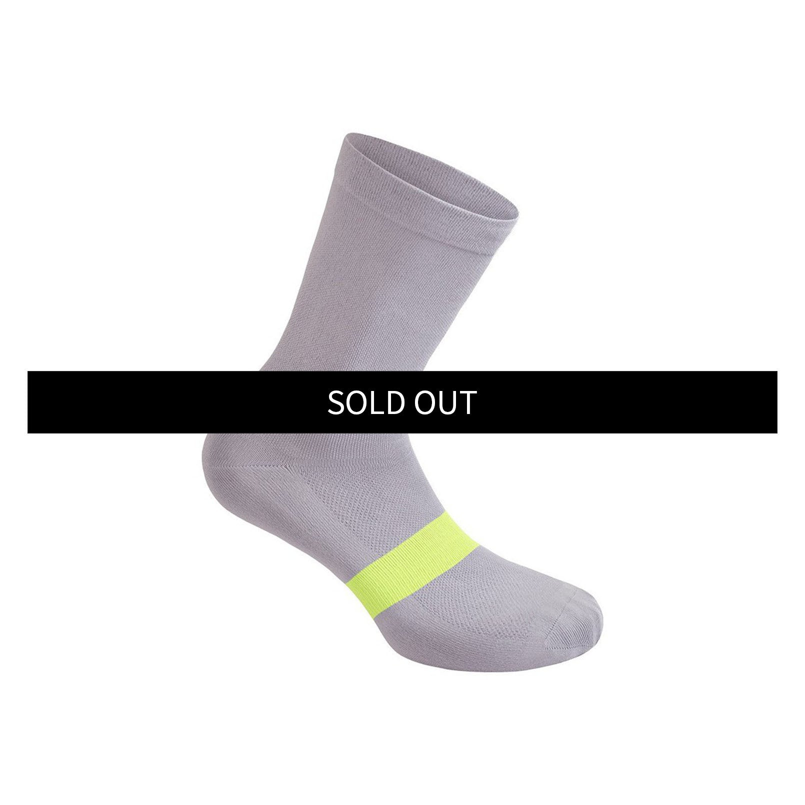 Classic Socks - Lilac Gray / Wild Lime
