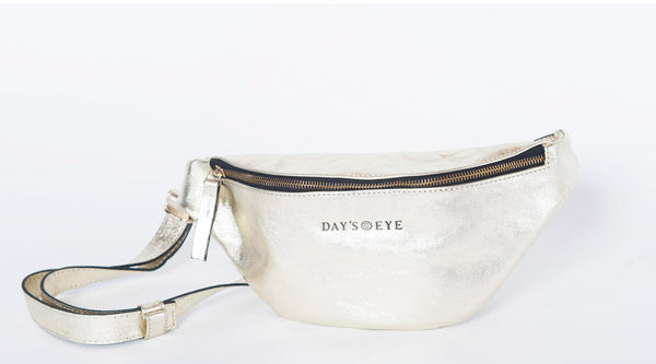 Gold Metallic Fanny Pack