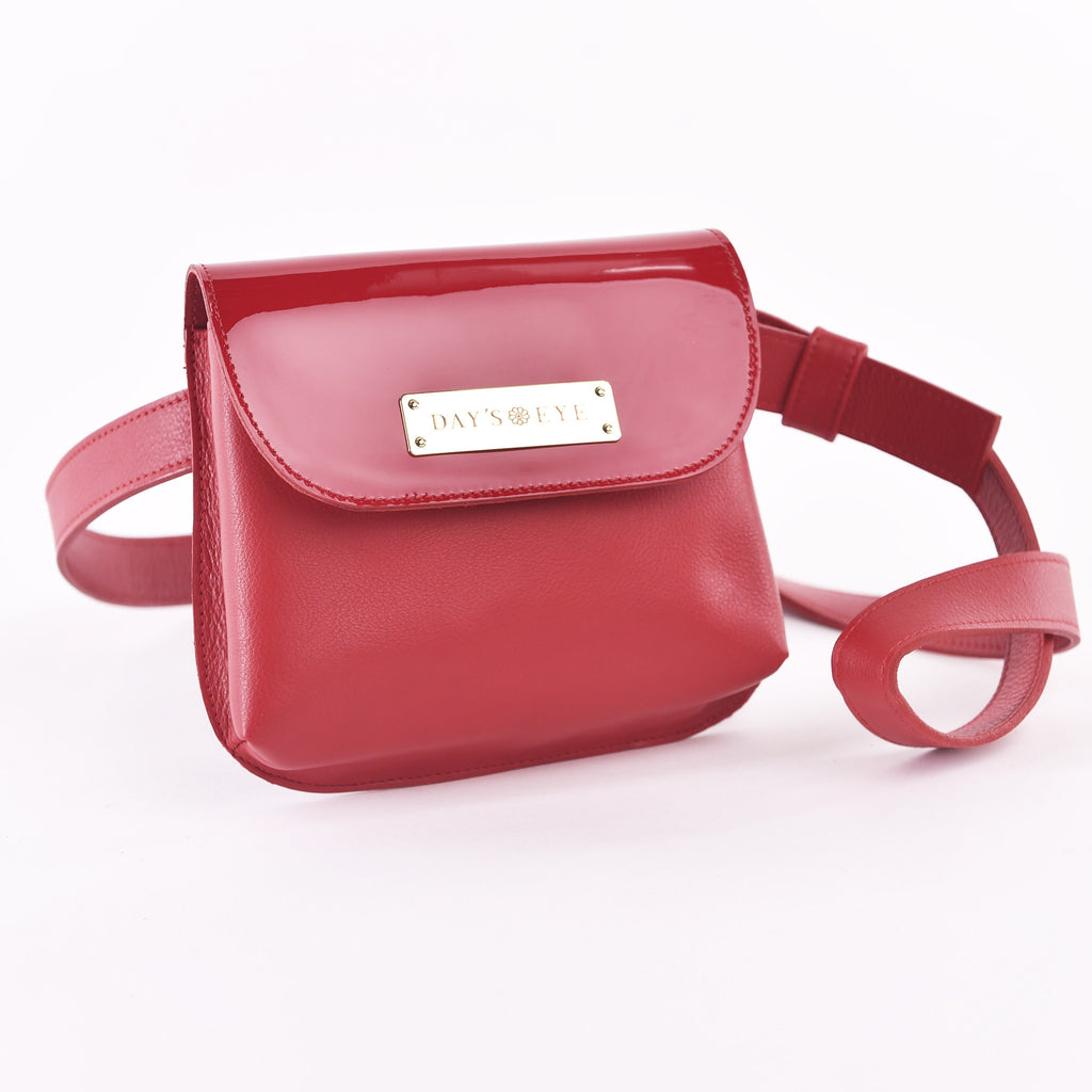 Patent Leather Sandy Fanny Pack