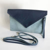 Two Color Envelope Clutch