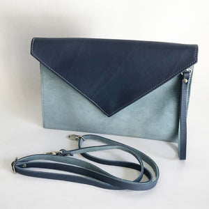 Two Shades Envelope Clutch
