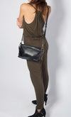 Maxi Wide Strap Clutch and Crossbody