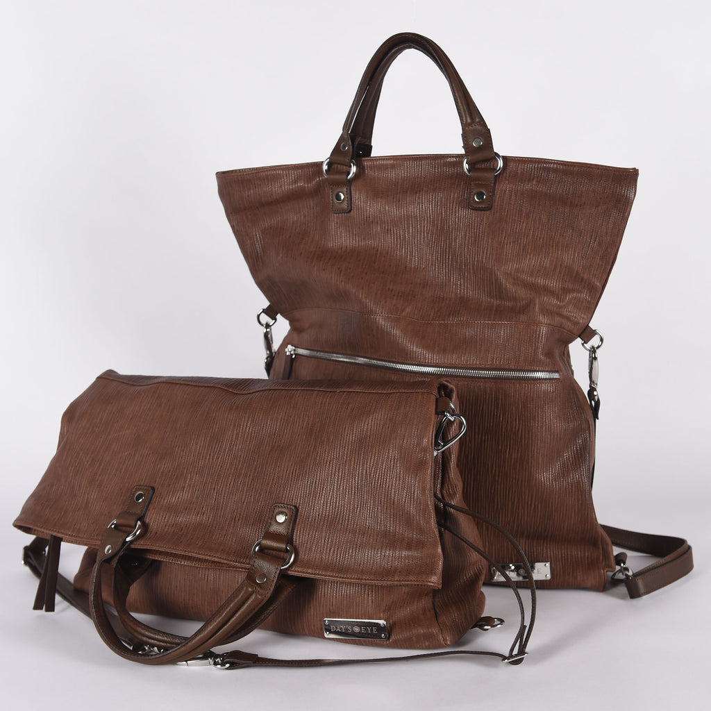 Spiga Leather Tote Convertible Bag