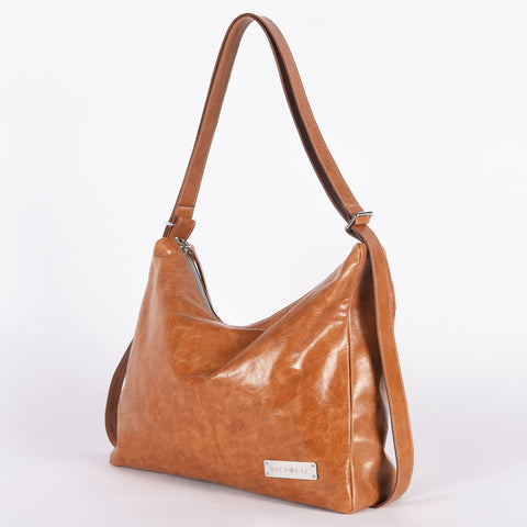Greta Hobo Leather Convertible Bag