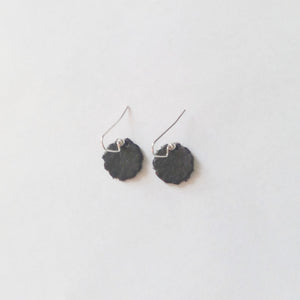 Small Leather Earrings