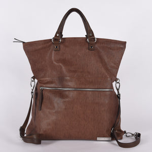 Weekender Spiga Leather Tote Convertible Bag