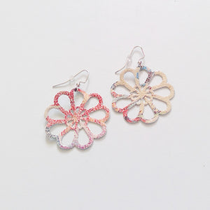 Day's Eye Flower Earrings