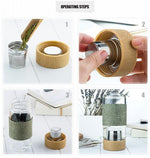 Safari - Traveling Tea Infuser Bottle