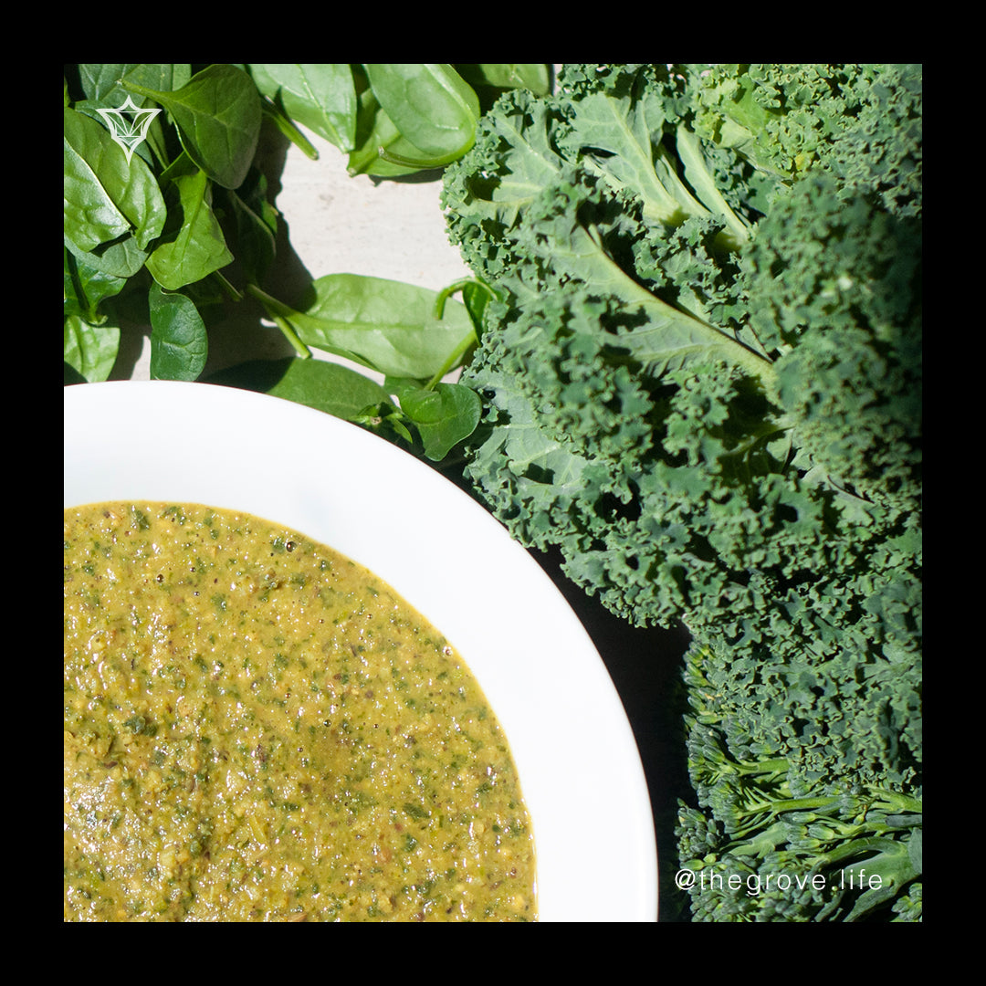 View Creamy Green Protein Soup Recipe