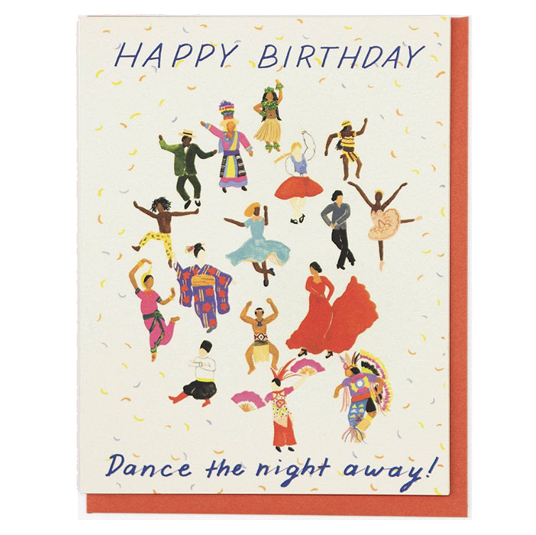Miraculous Happy Birthday Dance The Night Away Prelude Dawn Personalised Birthday Cards Veneteletsinfo