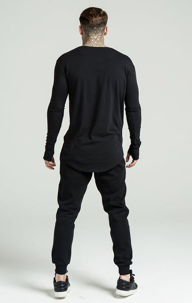 Undergarment L/S - Black by SikSilk