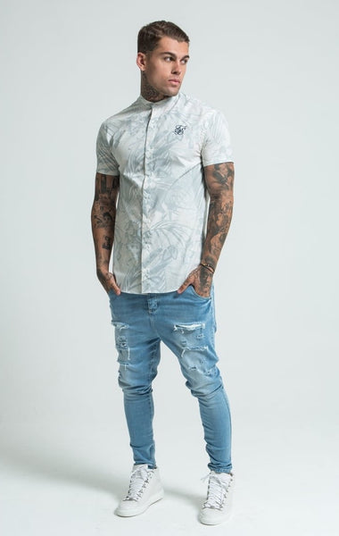 Winter Tropics Short Sleeve Fitted by SikSilk