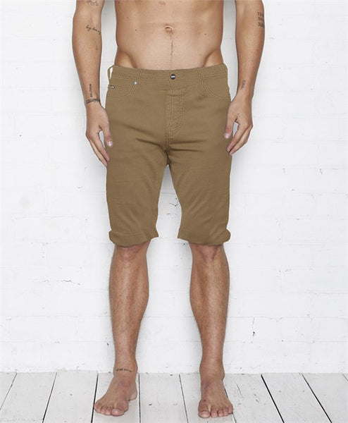 Vee Short - Dark Taupe by Nana Judy