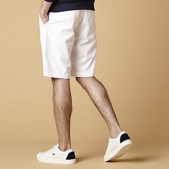 Bermuda Slim Fit Short - White by Lacoste