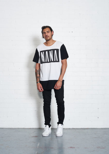 Monochrome Tee by Nana Judy