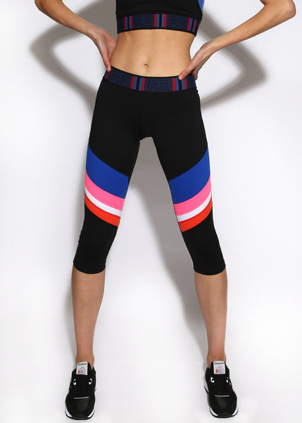 Bump and Run 3/4 Legging by P.E Nation