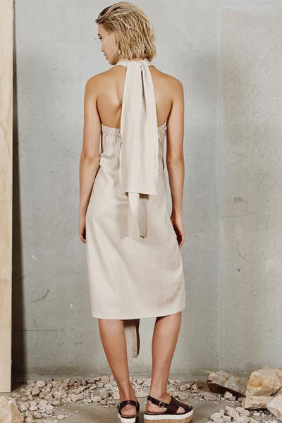 Interlude Dress - Sand by August Street