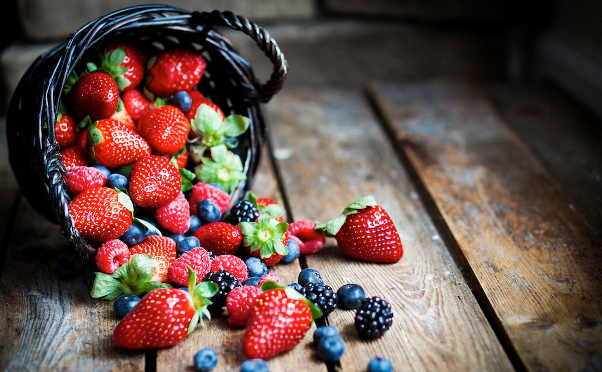 Berries can stain your teeth